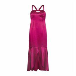 Aidan Mattox Liquid Satin Dress