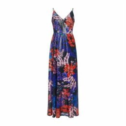 Adrianna Papell Print Sequin Dress