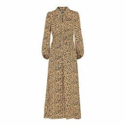 Baum Und Pferdgarten Amber Leopard-print Maxi Dress