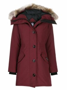 Canada Goose Rossclair padded parka - Red