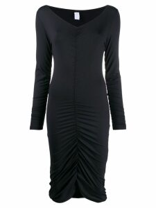 Fantabody ruched style dress - Black