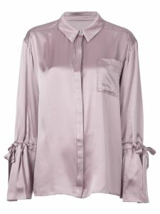 Cinq A Sept Elisia silk top - Purple