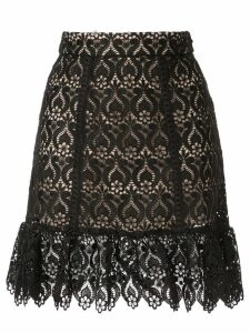 We Are Kindred Romily lace mini skirt - Black