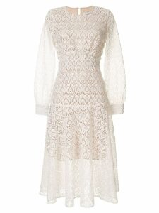 We Are Kindred embroidered Romily dress - White