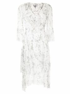We Are Kindred Elle floral-print flounce dress - White
