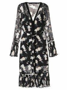 We Are Kindred Mia floral midi dress - Black