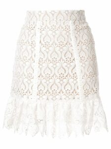 We Are Kindred Romily lace skirt - White
