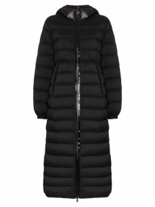 Moncler Grue long padded coat - Black