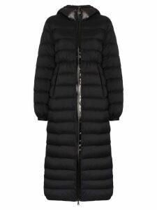 Moncler Grue long padded coat - Black