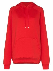 Ninety Percent oversized hoodie - Red