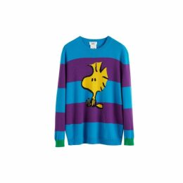 Chinti & Parker Turquoise Woodstock Cashmere-wool Sweater