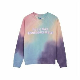 Mother The Champ Tie-dye Cotton Sweatshirt