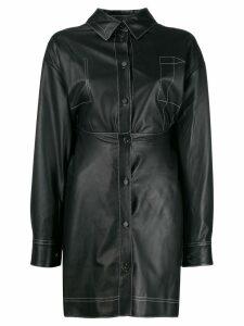 Ruban shirt dress - Black