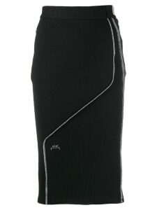 A-Cold-Wall* fitted logo midi skirt - Black