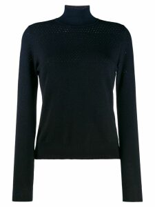 Fendi long sleeved sweater - Blue