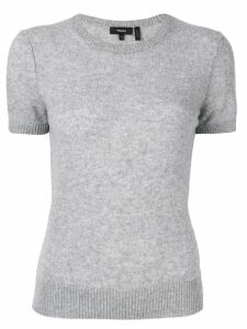 Theory fitted knit T-shirt - Grey