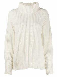 Iris Von Arnim turtleneck jumper - White