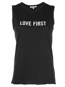 Nili Lotan 'Love First' sleeveless vest - Black