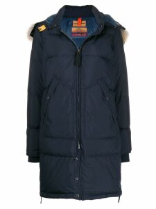 Parajumpers padded parka with removable hood - Blue