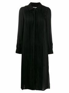 McQ Alexander McQueen pleated shirt dress - Black