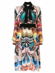 Mary Katrantzou Florence Marble Placed dress - Multicolour