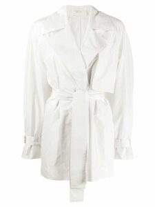 The Row Keera belted jacket - White