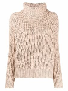 Loro Piana cashmere turtleneck jumper - Pink