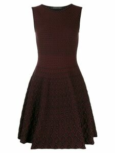 Antonino Valenti Orsola skater dress - Red