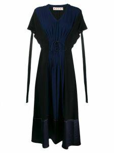 Marni corset front dress - Blue