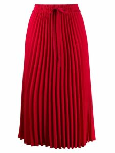 Red Valentino RED(V) pleated midi skirt