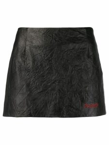 Philosophy Di Lorenzo Serafini textured mini skirt - Black