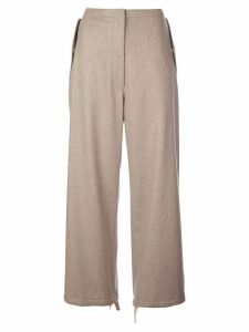 The Row Attie trousers - Neutrals