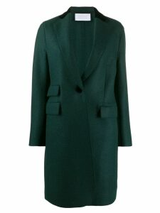 Harris Wharf London triple pocket wool coat - Green