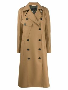 Rochas double breasted trench coat - Neutrals