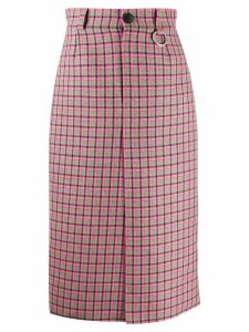 Balenciaga W pleat skirt - Pink
