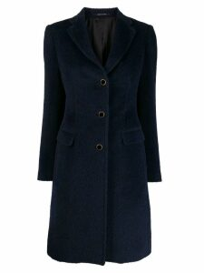 Tagliatore single-breasted coat - Blue
