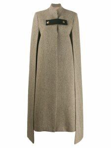Ssheena wool cape coat - Neutrals