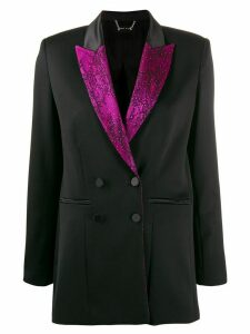 Styland floral lace lined blazer - Black