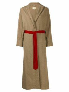 Bellerose tie waist coat - Brown