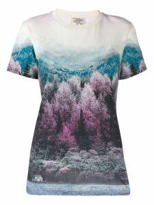 Baum Und Pferdgarten mountain scenery T-shirt - Pink