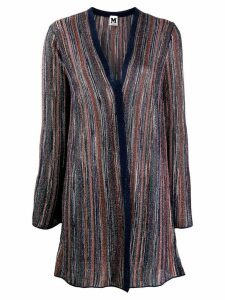 M Missoni metallic striped cardigan - Blue