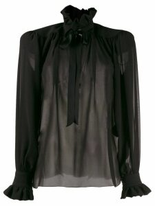 Saint Laurent poet blouse - Black