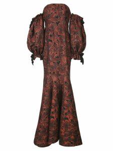 Zac Zac Posen fitted A-line dress - Red