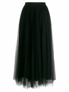 Fabiana Filippi pleated layered skirt - Black