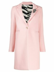 LIU JO single breasted coat - PINK