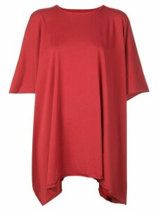 Rick Owens DRKSHDW oversized T-shirt - Red