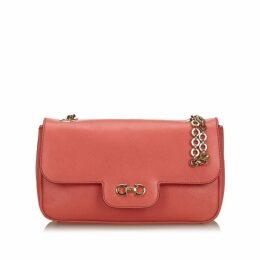 Ferragamo Pink Leather Luciana
