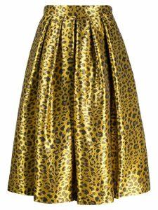 Ultràchic animal print skirt - Yellow