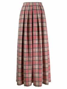 Ultràchic tartan print skirt - Red