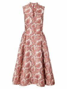 Adam Lippes paisley print dress - Red